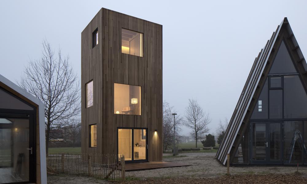 Une maison verticale pour gagner de la place dans les villes