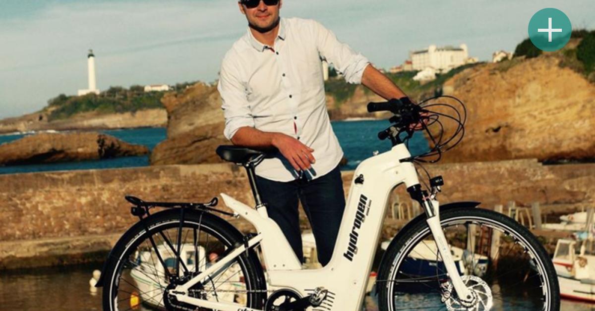 Le premier vélo qui carbure à l'hydrogène est français