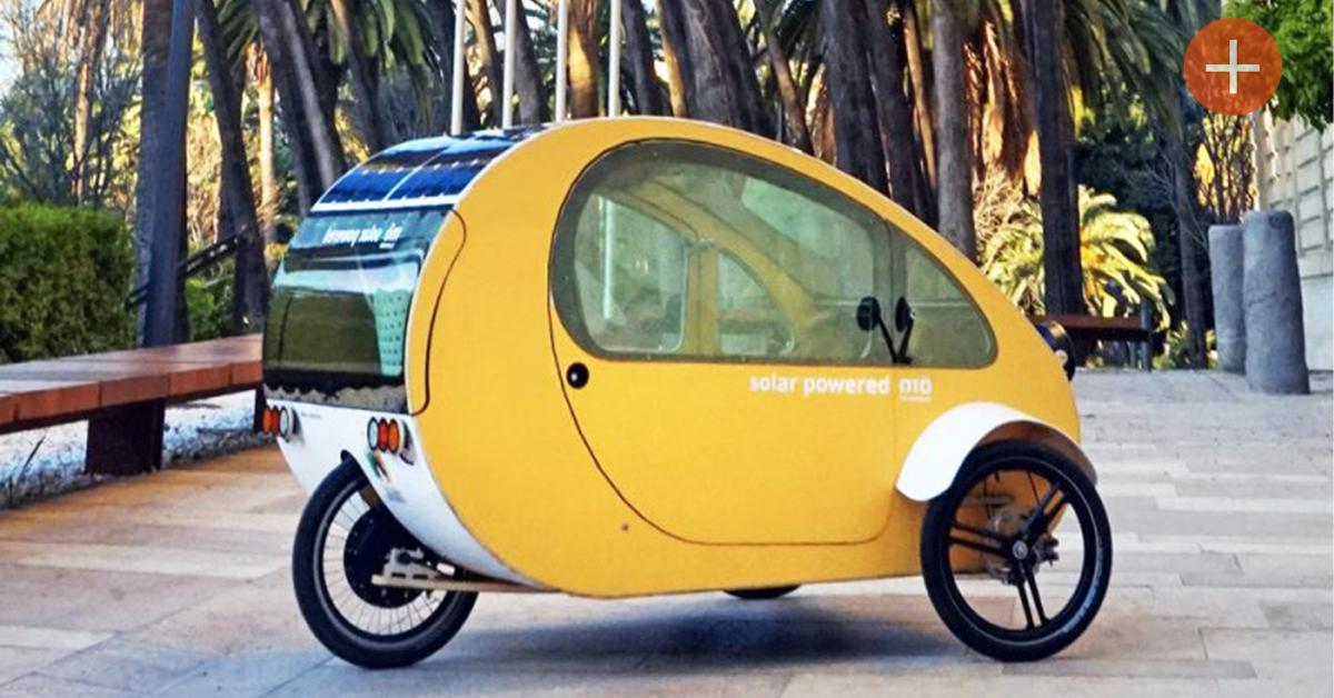 Une voiture solaire (et à pédales) pour 5000 €