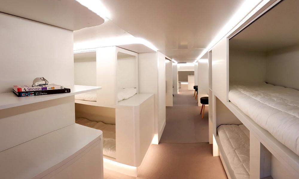 Airbus veut transformer ses avions en chambres d'hôtel