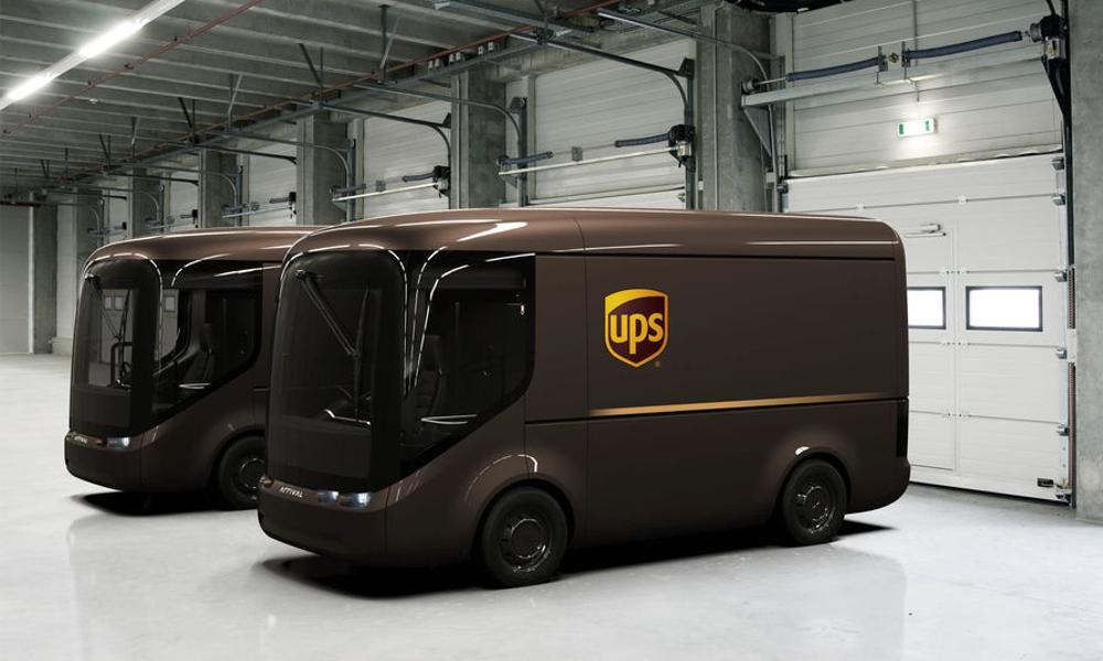 UPS choisit Paris pour inaugurer ses camionnettes électriques
