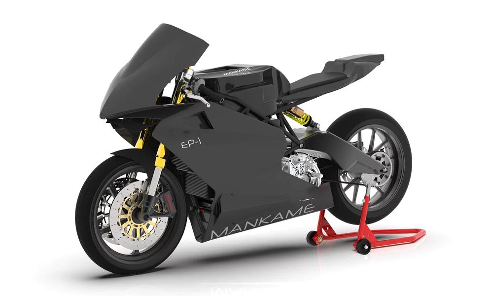 Cette moto électrique ne fait le plein que tous les 500 km