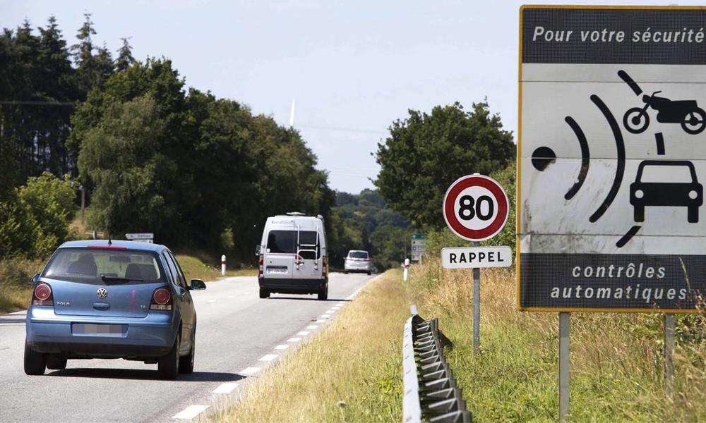 80 km/h: le nombre de PV multiplié par deux