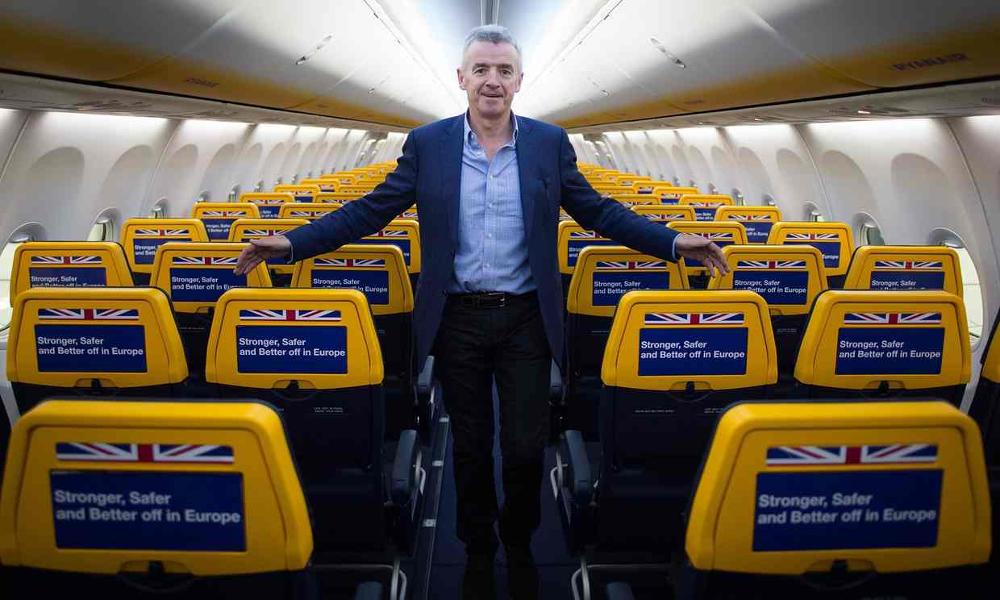 Ryanair envisage des billets d'avion gratuits d'ici 2025