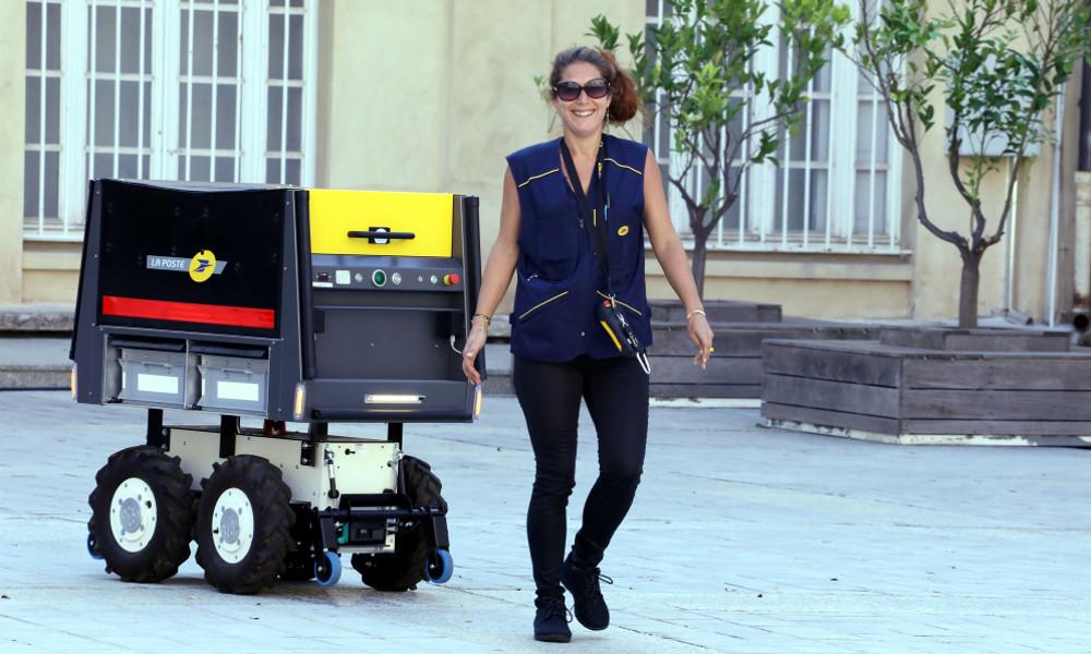 Les facteurs corses ont moins de boulot grâce à ce robot autonome