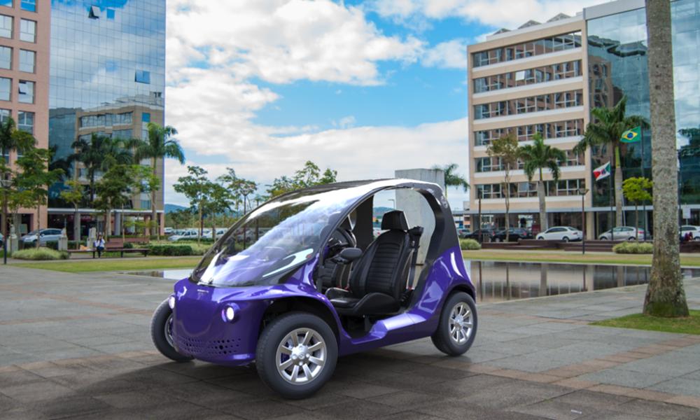 Cette voiture électrique démarre avec un simple mot de passe
