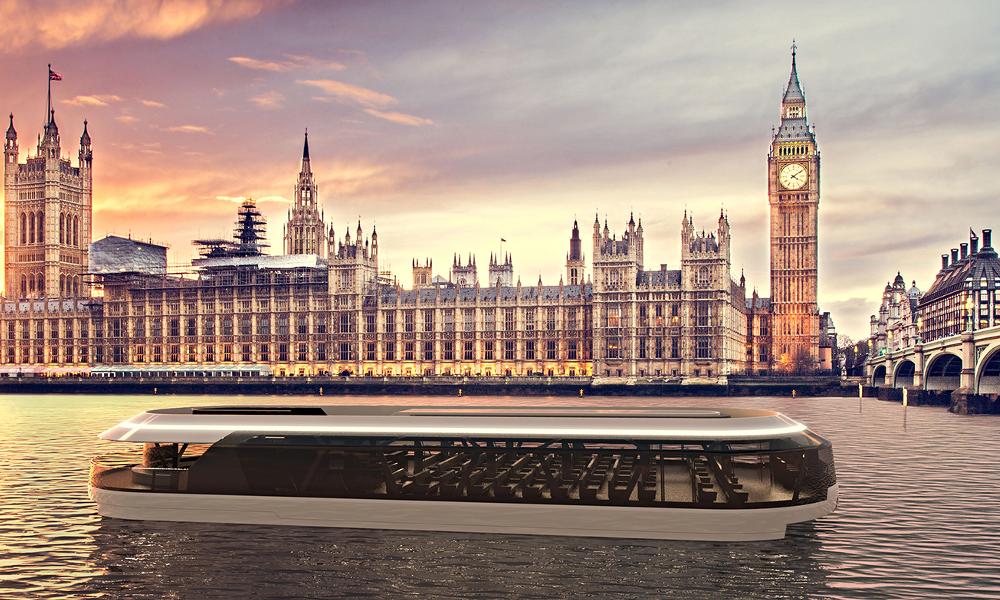 Ecolo et à 360° : Londres invente les bateaux-mouches du futur