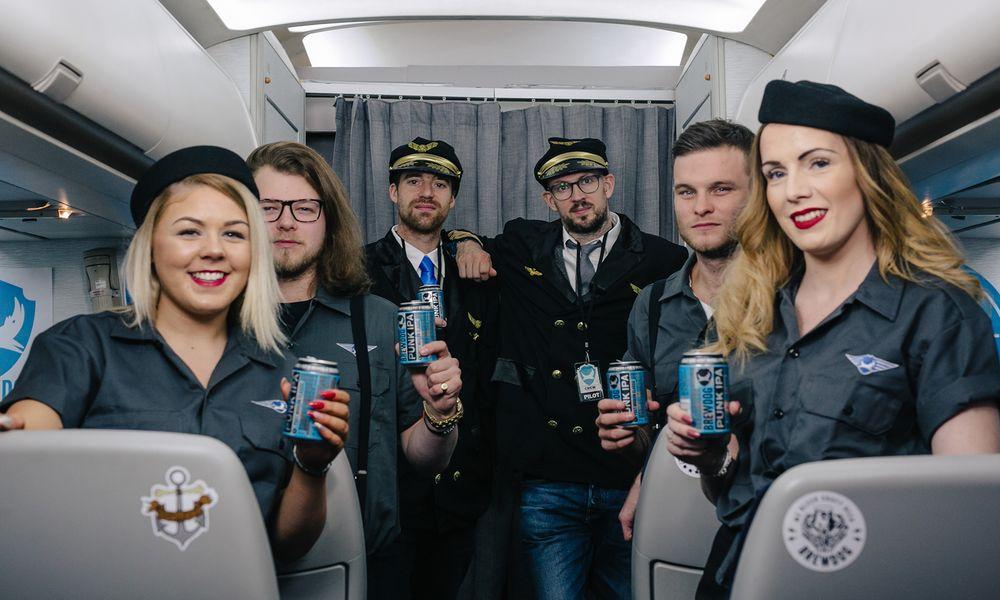 Une brasserie lance le premier avion dédié à la bière