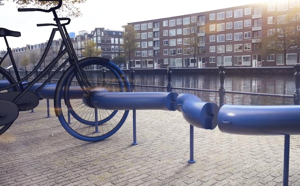Ces parkings à vélo pourraient alimenter les villes en énergie propre