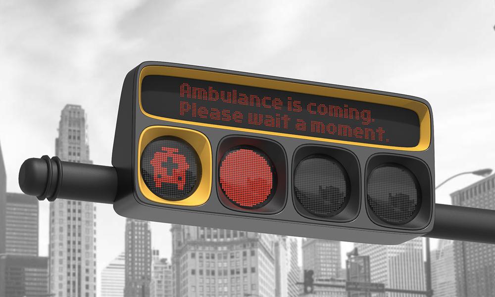 Ambulance is coming : ce feu donne la priorité aux véhicules d'urgence