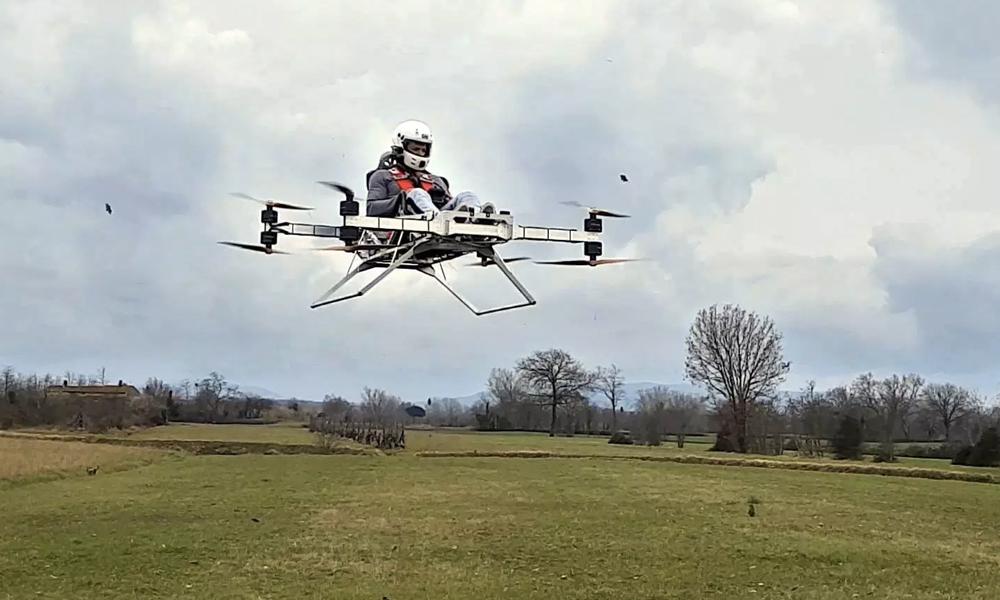 Des Polonais inventent un drone-copter qui fonce à 100 km/h