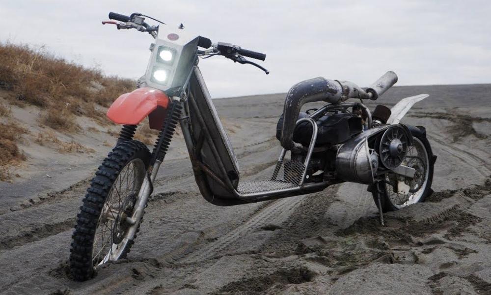 Fast and curious : ils transforment une motoneige en moto tout-terrain