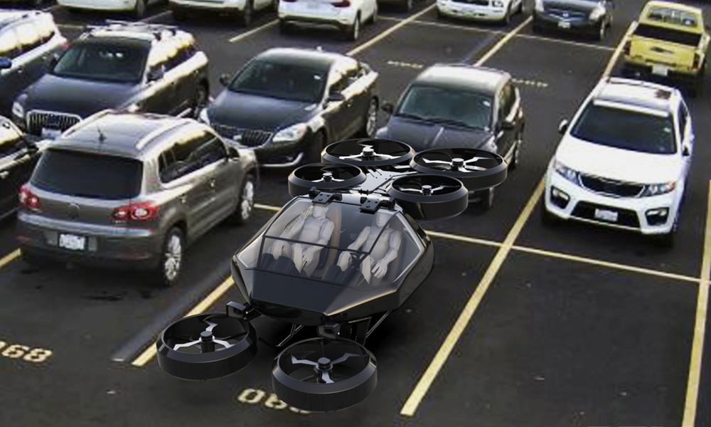 Cette voiture volante peut atterrir sur tous les parkings