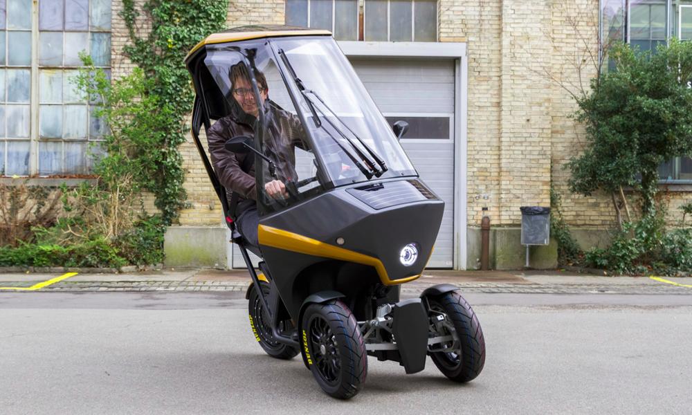 Pour conduire en solitaire, il y a cette micro voiture solaire