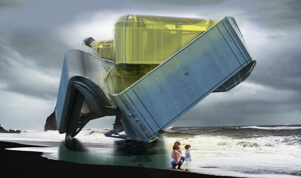 Des plateformes pétrolières transformées en hôtels éco-responsables
