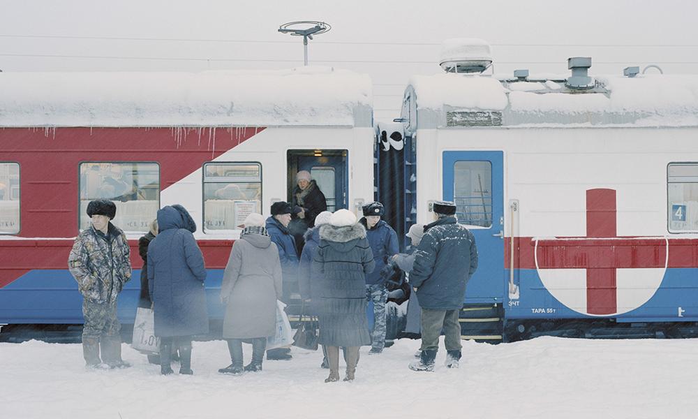 Ce train-hôpital parcourt la Russie pour soigner ceux qui en ont besoin