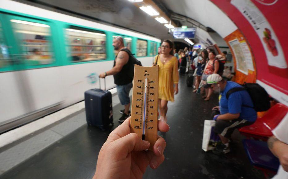 Courage : la clim' dans le métro devrait arriver dans 5 ans selon Valérie Pécresse