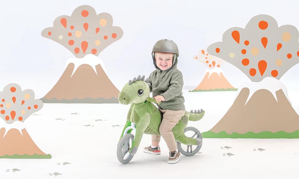 Ces animaux sur roue vont redonner le goût du vélo aux enfants