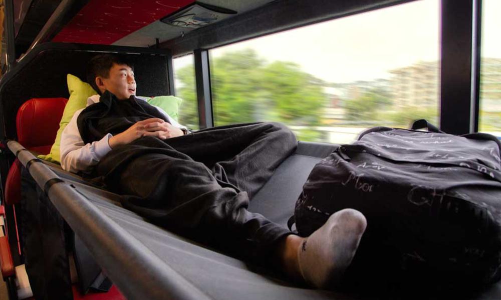 À Londres, des bus convertis en logements pour les SDF