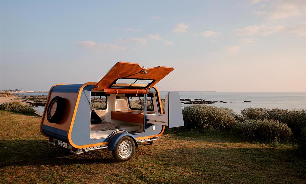Carapate, la mini-caravane plus grande qu'un studio parisien