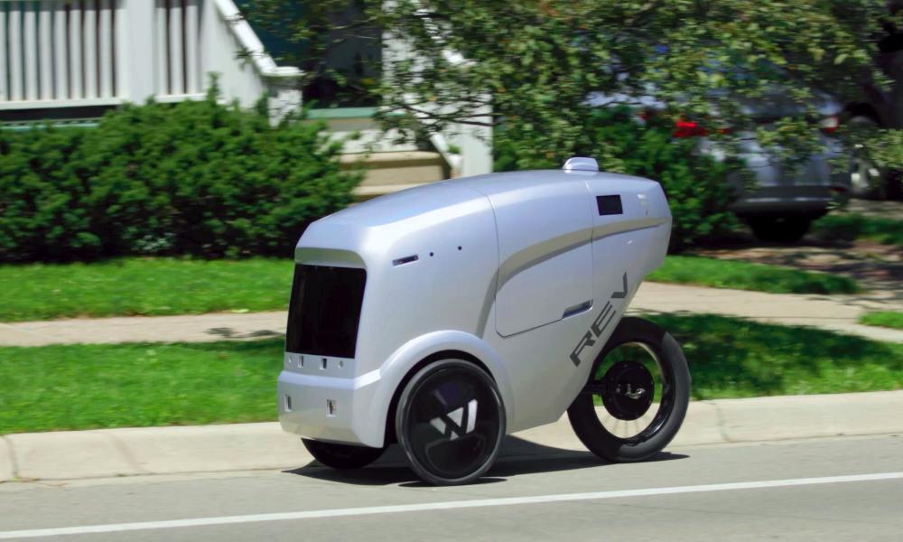 Chaud devant, ce robot de livraison se faufile sur les pistes cyclables