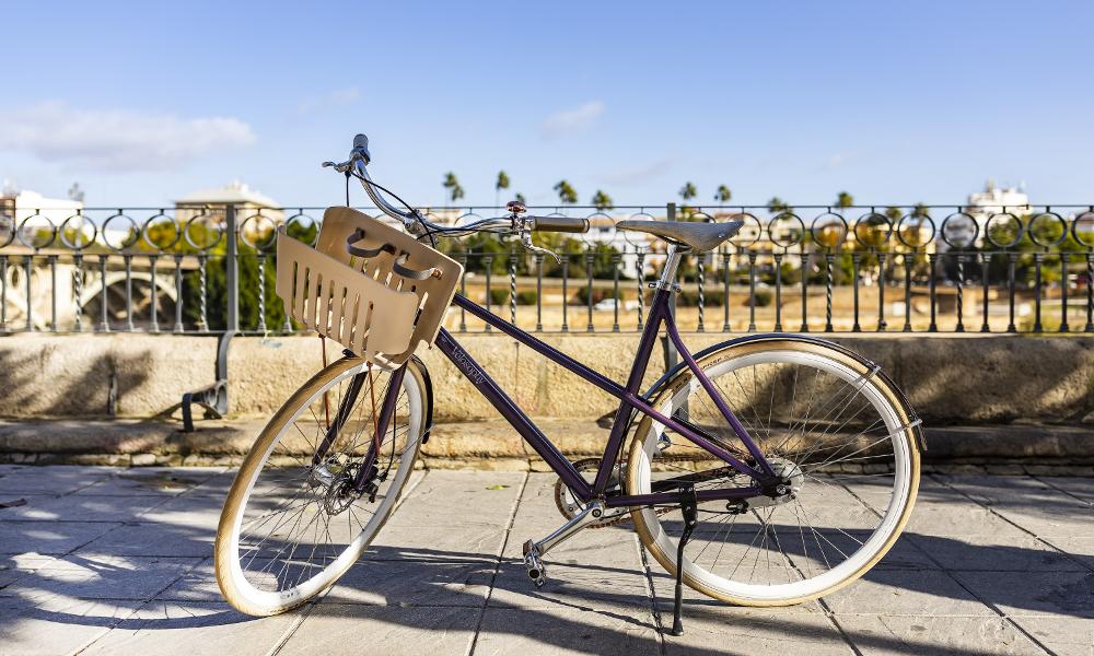 Ce vélo est fabriqué à partir de capsules de café recyclées (What else?)