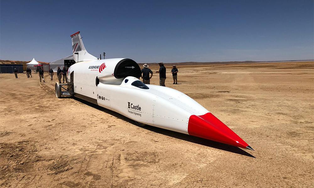 Deux fois plus rapide qu'un avion de ligne, cette voiture roule à 1700 km/h