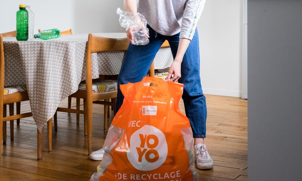 Yoyo, la startup qui échange vos bouteilles plastiques contre des cadeaux