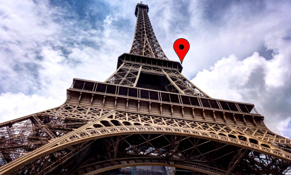 Pour Noël, visitez le sommet de la tour Eiffel… sur Google Maps