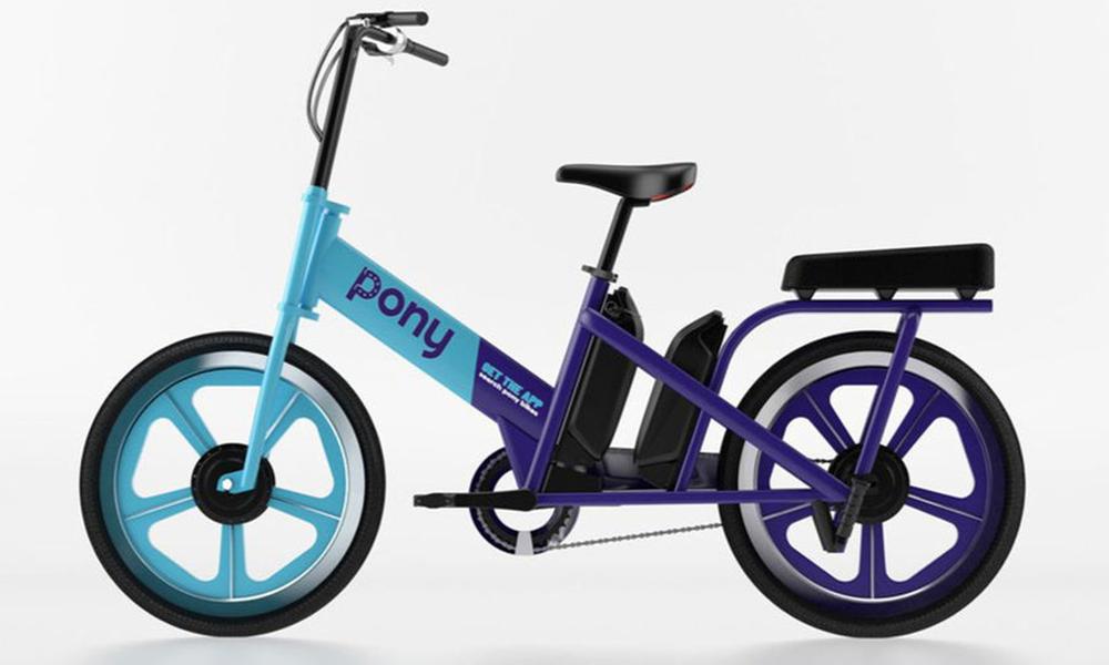 Made in France : un vélo électrique en libre-service pour deux personnes