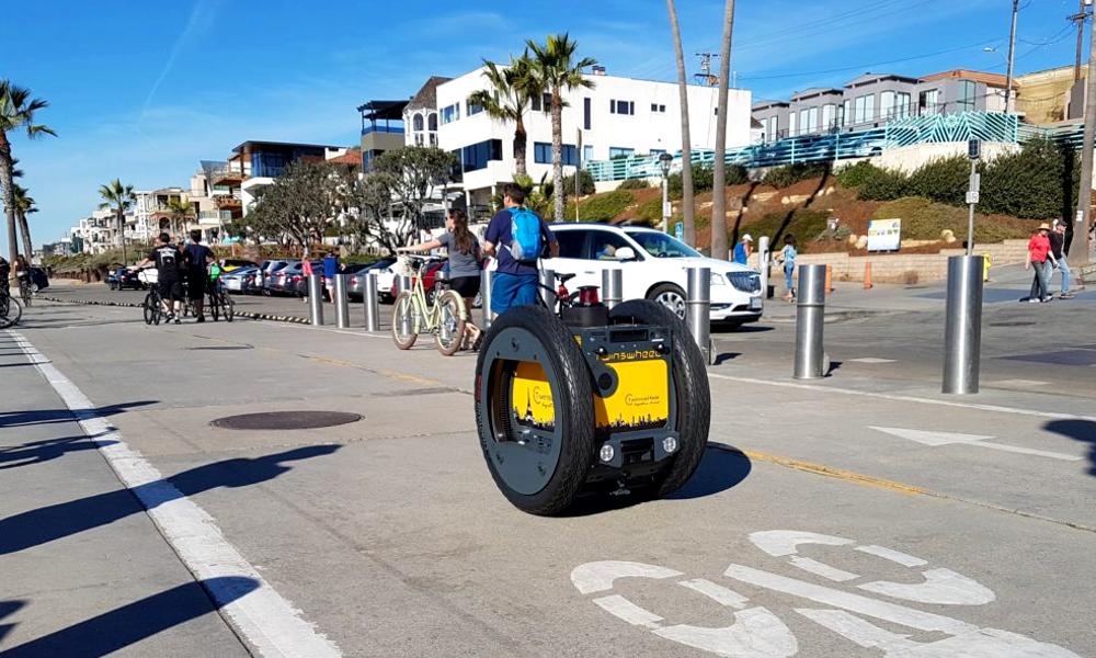 À Montpellier, les camions de livraison sont remplacés par ces droïdes autonomes