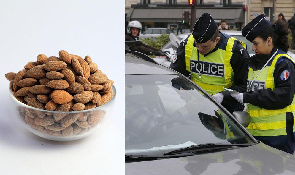 """En Suisse, ces policiers distribuent des """"amandes salées"""" aux chauffards"""