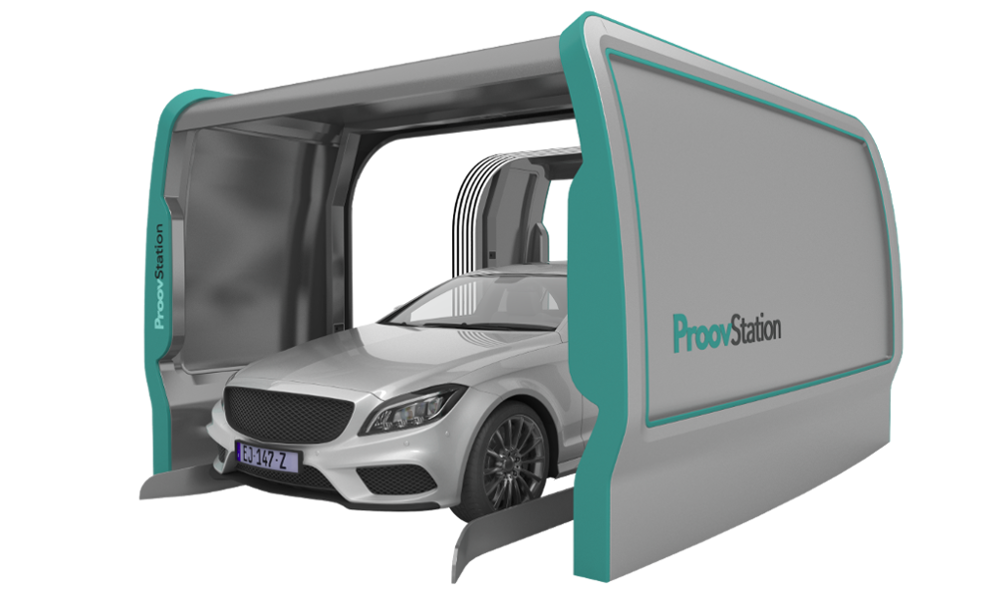 Ce scanner fait l'état des lieux de votre voiture de location en 3 secondes