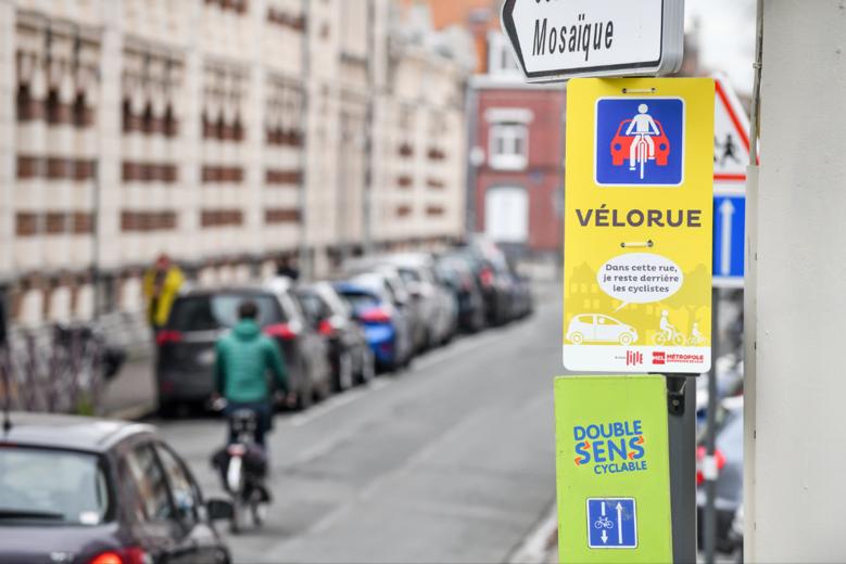 Lille inaugure la première rue où il est interdit de doubler les cyclistes