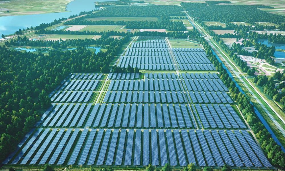 Ce festival de rock vient de créer le plus grand parking solaire au monde