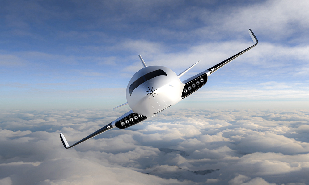 Cet avion électrique pourrait voler grâce… à l'air