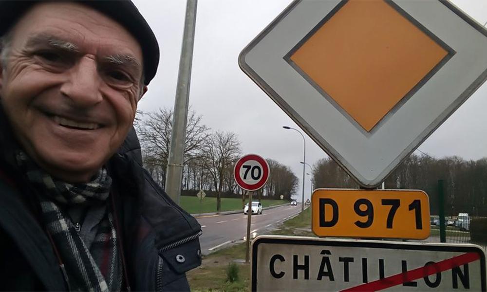 Il fait 300 km à pied pour alerter Macron sur la pollution des moteurs allumés à l'arrêt