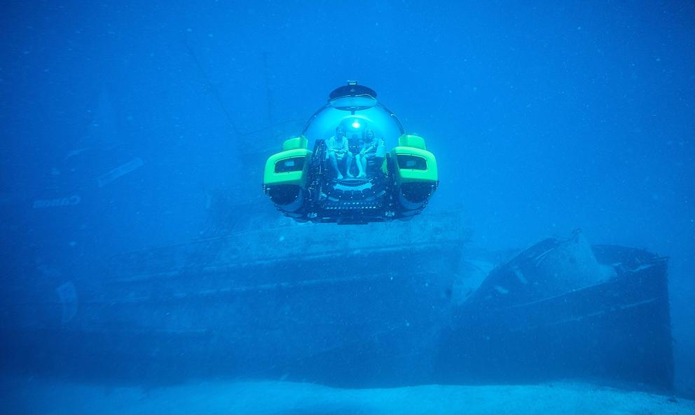 Besoin d'air ? Offrez-vous un voyage confiné en sous-marin