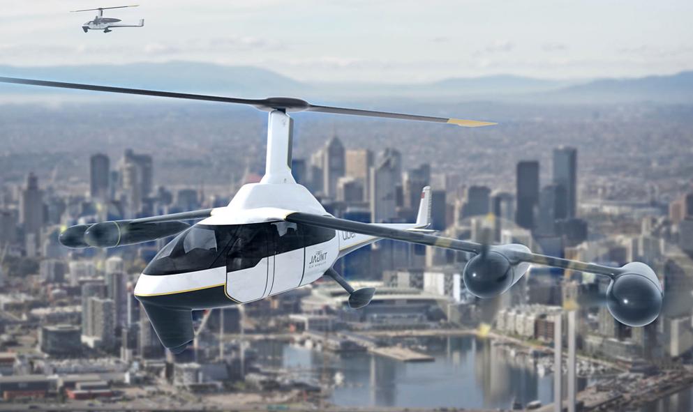 Qui veut s'envoyer en l'air dans cet avion-hélicoptère ?
