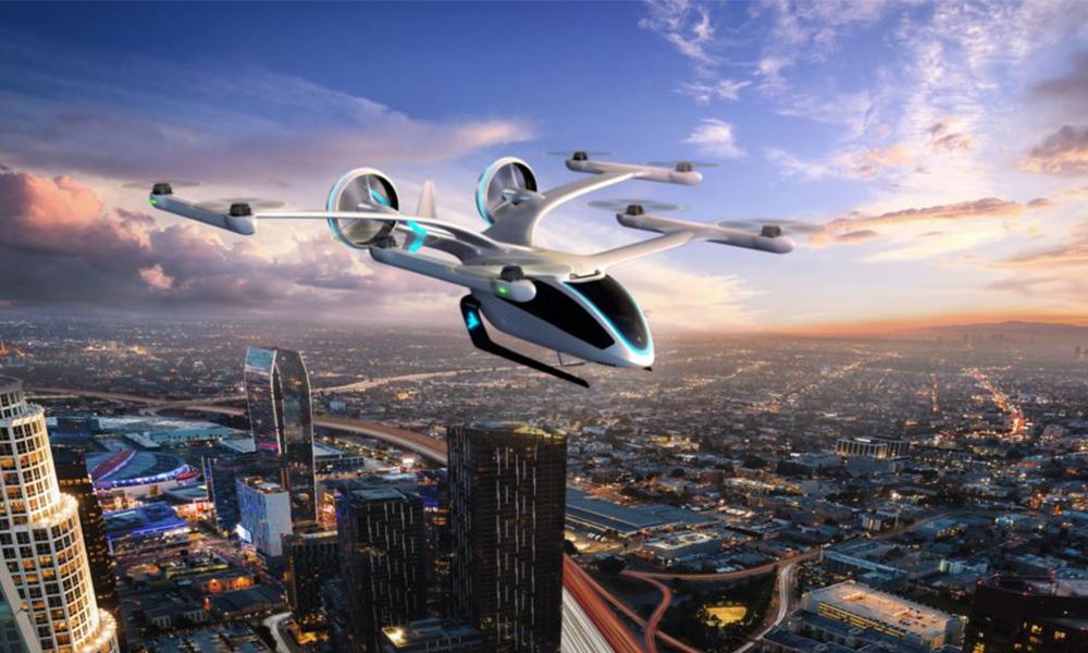Officiel : des taxis volants dans le ciel de Los Angeles dès 2021