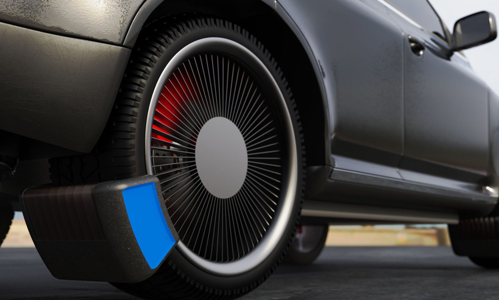Pollution : ce boitier capture le microplastique rejeté par vos pneus