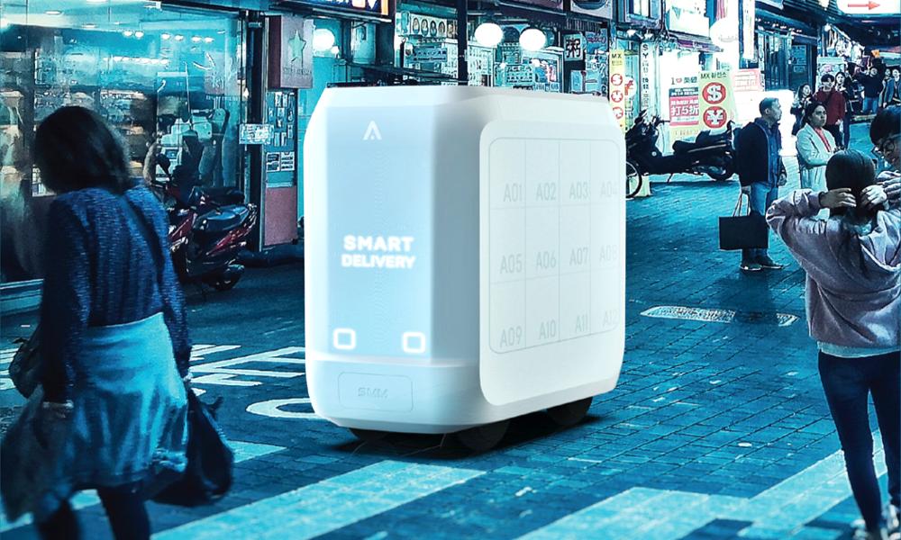 Glaces, cocktails, essence : ce robot vous livre tout à domicile