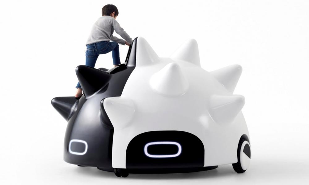 Cette voiture autonome vient chercher votre enfant pour l'emmener au parc