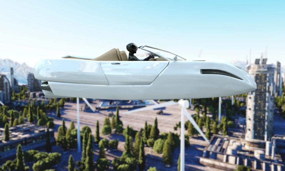 Des taxis volants devraient voler aux USA dès 2021