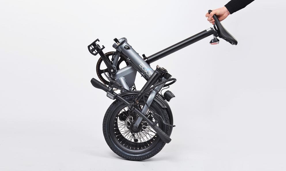 EOVOLT, le vélo électrique qui se plie en 10 secondes