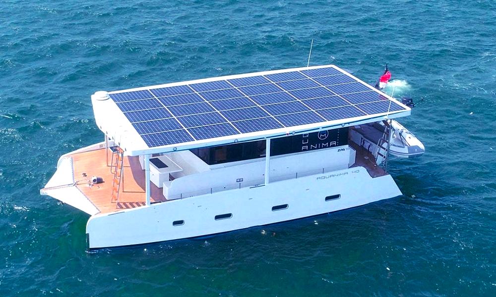 """Pour les ultra-riches, il y a ce yacht qui """"roule"""" à l'énergie solaire"""