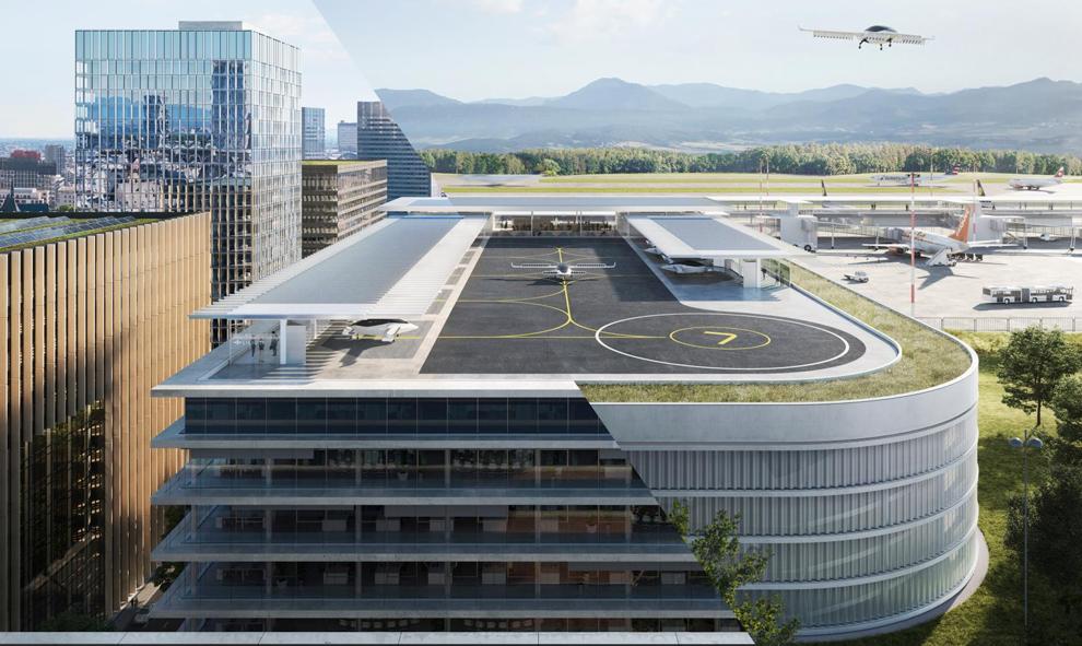 Dès 2025, ces parkings pour taxis volants pourraient débarquer dans les centres-villes