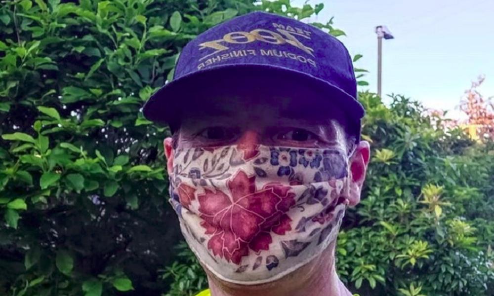 COVID-19 : ce médecin a couru 35 km pour défendre le port du masque