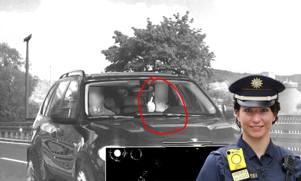 Il fait un doigt d'honneur au radar et écope de 1500 € d'amende