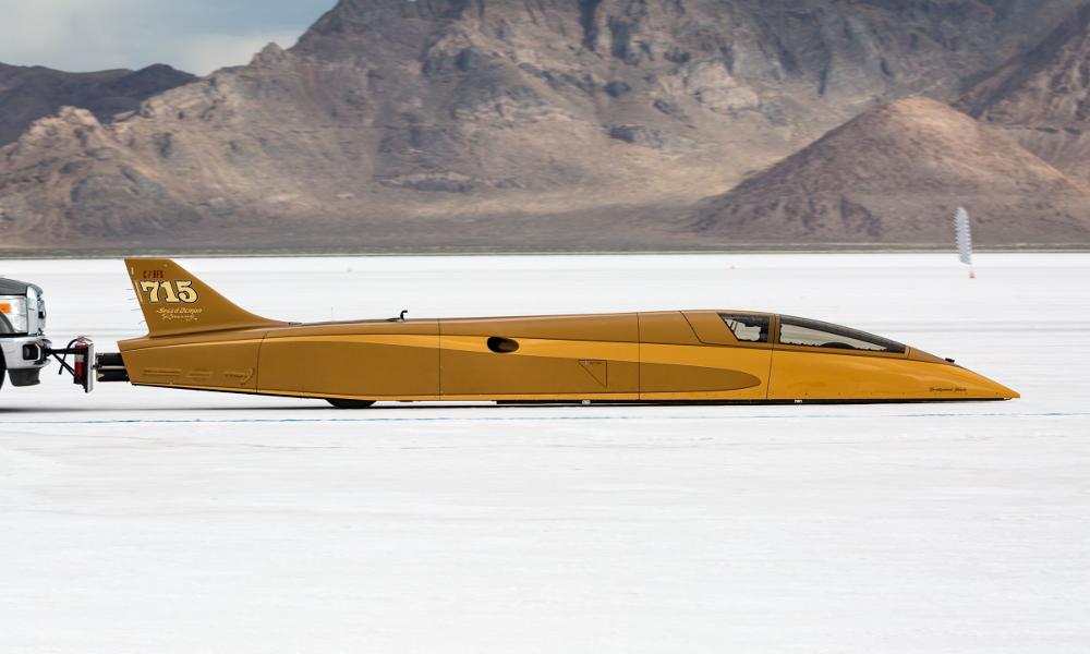 Record : cette voiture-fusée a atteint 757 km/h